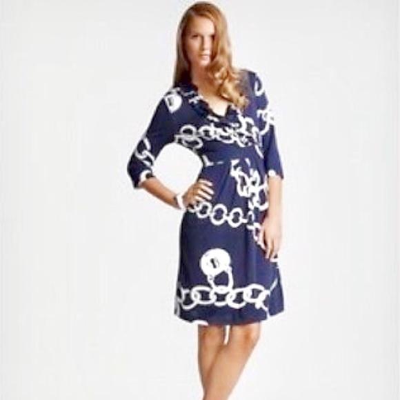 7dc4c75f407806 Lilly Pulitzer Dresses & Skirts - Lilly Pulitzer Navy Dress L